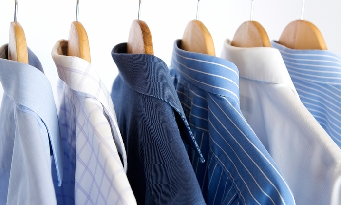 National Yorgeys Cleaners - Multiple Locations: Dry Cleaning at National Cleaners & Yorgey's Fine Cleaning (50% Off). Two Options Available.
