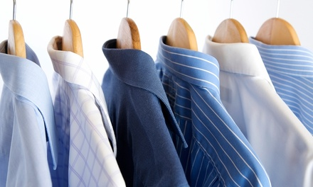 Dry Cleaning at National Cleaners & Yorgey's Fine Cleaning (50% Off). Two Options Available.