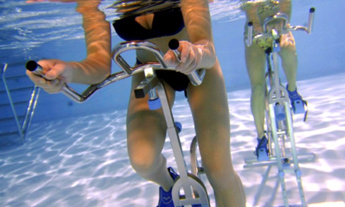 Wet Bikes Limited - Chertsey: Two Sessions of Aqua Cycling for One or Two at Wet Bikes Limited (Up to 38% Off)