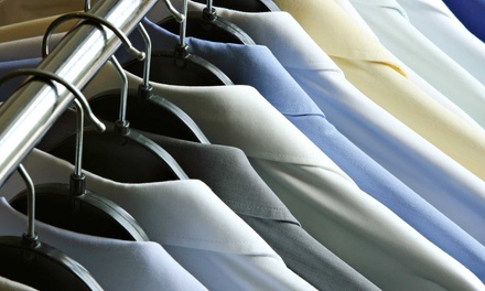 $30 for $60 or $20 for $40 Worth of Dry-Cleaning Services at Dry Clean Safari (Half Off)