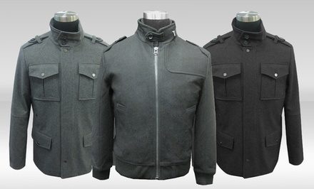 Whispering Smith Men's Wool-Blend Jackets. Multiple Styles Available.