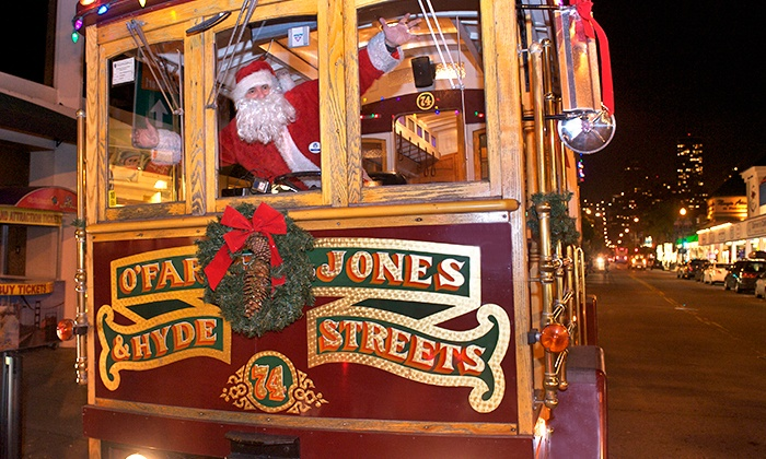 Classic Cable Cars - Multiple Locations: $30 for a 70 Minute Cable-Car Holiday-Lights Tour for Two from Classic Cable Cars (Up to $60 Value)