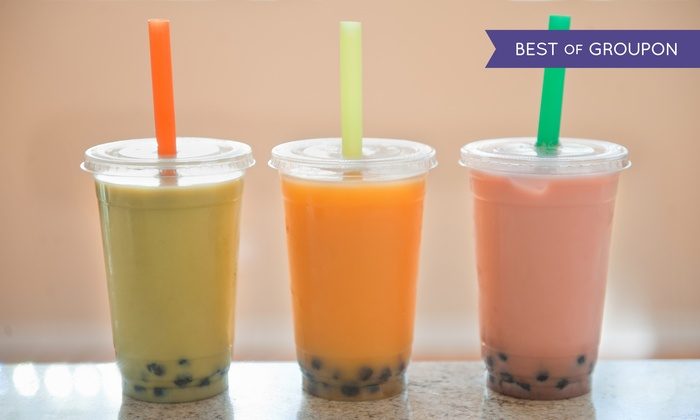 Teapioca Lounge - Multiple Locations: $12 for $20 Worth of Tea, Coffees, and Smoothies at Teapioca Lounge