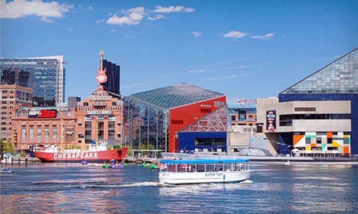 Baltimore Photo Safari - Inner Harbor: 2.5-hour Travel Photography Workshop for One or Two at Baltimore Photo Safari (Up to 58% Off)