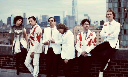 Arcade Fire at Xfinity Center on August 19 at 7:30 p.m. (Up to 50% Off)