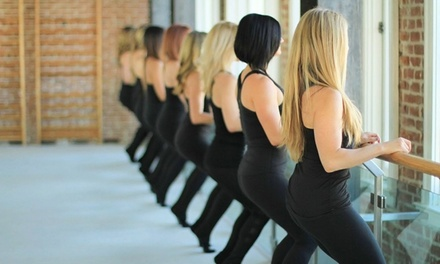 One Month of Unlimited Classes or a 10-Class Series Pass at The Bar Method (Up to 44% Off)