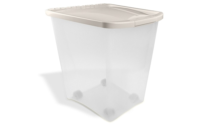 Up To 39 Off on Airtight Pet Food Containers Groupon Goods
