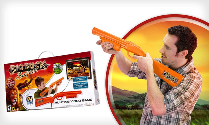 """Big Buck Safari"" Plug and Play TV Game: $18 for a ""Big Buck Safari"" Plug and Play TV Game ($39.99 List Price). Free Shipping."