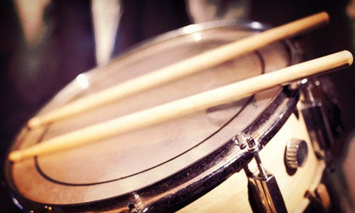 The Drum Lab - Sunset West: Four or Eight Private Drum Lessons at The Drum Lab in Rocklin (75% Off)