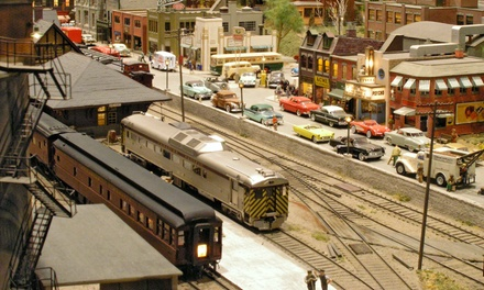 Admission for Two, Four, or Six to St. Jacobs & Aberfoyle Model Railway (Up to 55% Off)