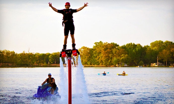 Michigan Wet N Wild - Downtown Walled Lake: $80 for One Flyboarding Session at Michigan Wet N Wild ($150 Value)