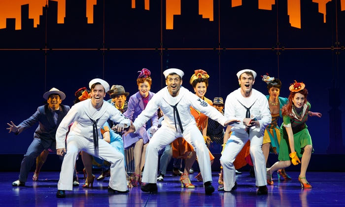 """""""On the Town"""" - Lyric Theatre: Tickets from $35 for Broadway's """"On the Town"""" through June 28"""