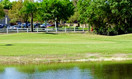 9 or 18 Holes with Car Rental and Range Balls Buckets for 2 or 4 at Terrace Hill Golf Club (Up to 46% Off)