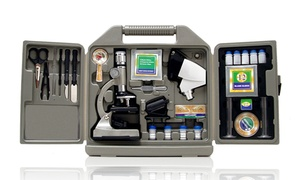 Cassini Microscope Set with Carrying Case (67-Piece)