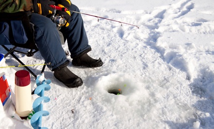 Four-Hour Ice Fishing House Rental for Four or Six from Metro Lakes Fish House Rental, LLC (Up to 45% Off)