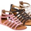 Laura Ashley Girls' Embellished Sandals