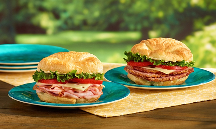 HoneyBaked Ham Company  - HoneyBaked Ham Company : Premium Sandwiches, Ham Dinner for Four, or Sandwich Platter at HoneyBaked Ham (Up to 52% Off)