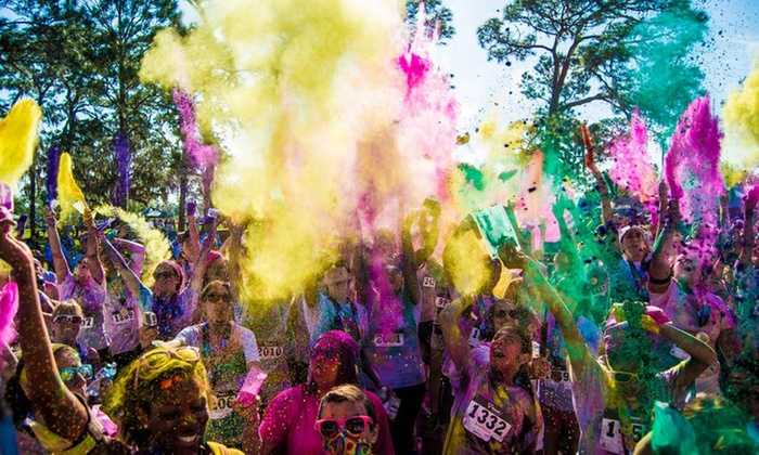 The 5k Color Blast - Nathan Benderson Park: $40 for One Entry to The 5k Color Blast - Sarasota, Presented by MOR on Sunday, October 25 ($60 Value)