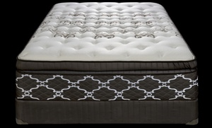 LA Mattress: Queen or King Sealy Eurotop Memory-Foam Pocket Coils Mattresses at LA Mattress (75% Off)