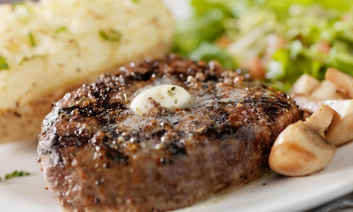The Carolina Strip Club - Downtown Columbia: Steakhouse Dinner with Wine for Two at The Carolina Strip Club (Up to 32% Off). Two Options Available.