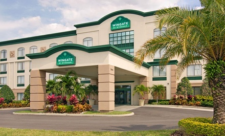 Groupon Deal: Stay at Wingate by Wyndham at Universal Studios & Convention Center in Orlando, FL. Dates Available into August.
