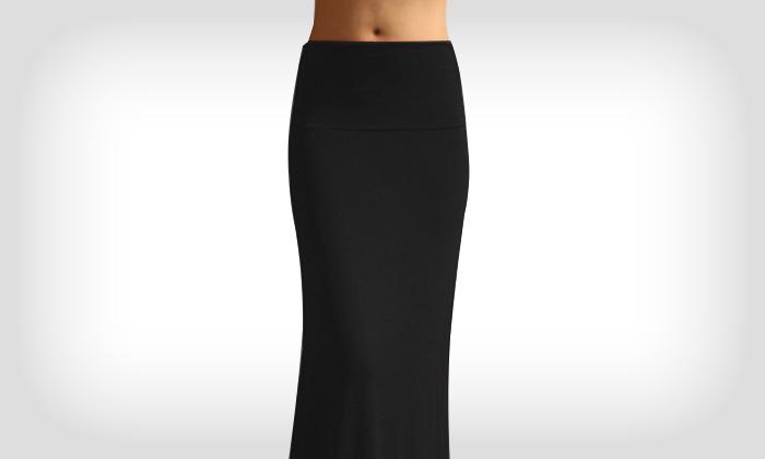 Vaak Maxi rok in 4 kleuren | Groupon Goods &GL67