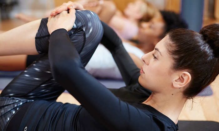OptimalFit Pilates - Miami International Business Park: 5 or 10 Yoga or Spin and Stretch Classes at OptimalFit Pilates (Up to 51% Off)