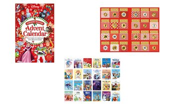 Disney Advent Calendar - Giant Storybook Collection with 24 Mini-Books