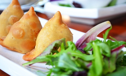 Indian Cuisine at Bollywood Bistro (50% Off). Two Options Available.