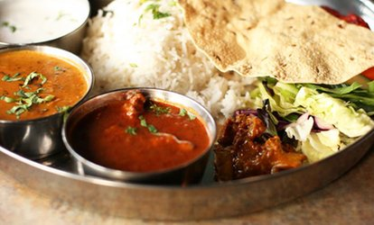 image for $12.50 for $20 Worth of Indian Food and Drinks at Indian Chillies
