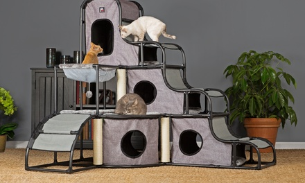 Prevue Pet Products Catville Play and Sleep Area