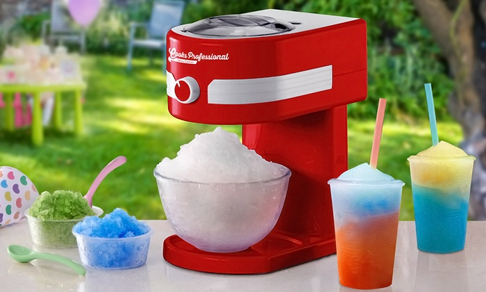 Ice Slushy Maker Groupon
