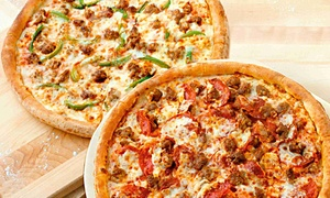 Papa John's Pizza: Up to 41% Off Pizza at Papa John's Pizza. Two Options Available.