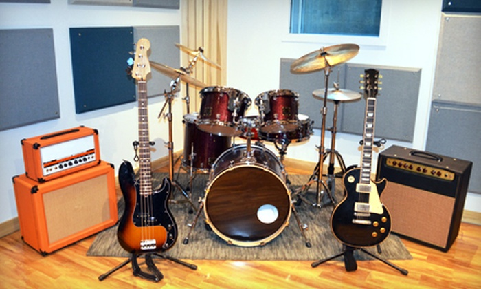 Replay Studios - New York: Four or Eight Music Lessons at Replay Studios (Up to 52% Off)
