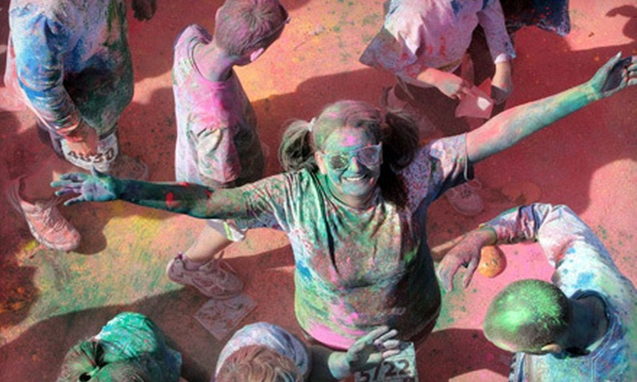 Color Me Rad - Altamont: $20 for a 5K Race Entry to Color Me Rad on Saturday, September 22 (Up to $40 Value)