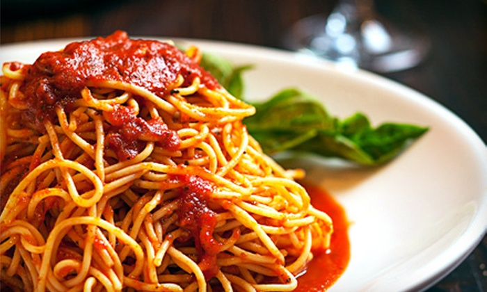 Slice of Vegas - The Strip: $20 for $40 Worth of Italian Fare at Slice of Vegas