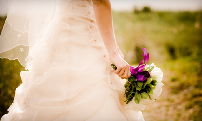 The Creative Wedding Shop - Mechanicsville: $50 for $100 Worth of Wedding and Bridal-Party Gowns, Veils, Jewelry, and Accessories from The Creative Wedding Shop