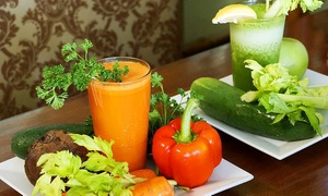 Vegetarian Restaurant by Hakin: $16.50 for 3 Groupons, Each Good for $9 Worth of Smoothies at Vegetarian Restaurant by Hakin ($27 Value)