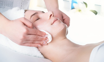 Signature Facial with a Microdermabrasion Treatment at Facelogic Spa (Up to 70% Off).
