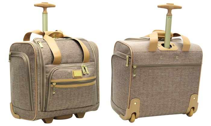 Nicole Miller Taylor Under-Seat Carry-On Bag   Groupon