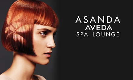 Haircut with Optional Conditioning Treatment or Peel at Asanda Aveda Spa Lounge (Up to 55% Off)