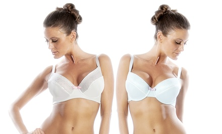 Parfait Janet Padded and Wire Bra Set for Fuller-Busts. Multiple Colors Available.