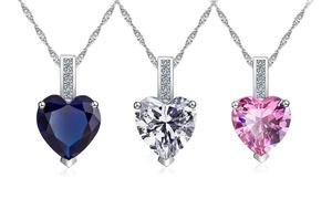 Heart Cut Sapphire Jewellery
