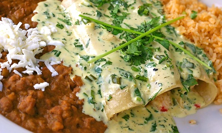 Mexican Meal for Two or Four with Appetizers and Entrees at Arturos Cantina (Up to 51% Off)