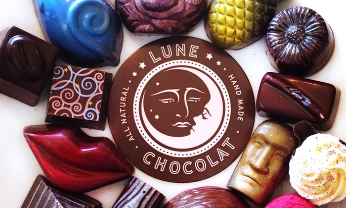 Lune Chocolat - Lune Chocolat: $12 for Two Groupons, Each Good for $10 Worth of Treats for Two or More People at Lune Chocolat