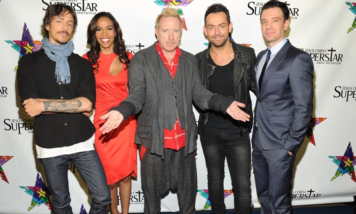 """""""Jesus Christ Superstar Arena Spectacular"""" - Victory Park: """"Jesus Christ Superstar Arena Spectacular"""" Starring Brandon Boyd, JC Chasez, and Michelle Williams (Up to 51% Off)"""