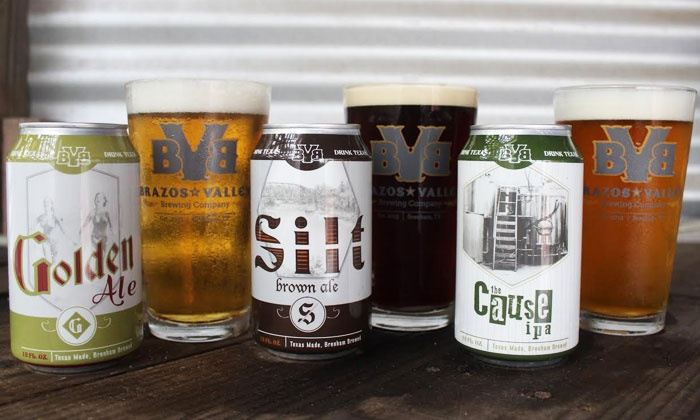 Brazos Valley Brewery - Brenham: Brewery Experience for Two or Four at Brazos Valley Brewery (Up to 44% Off)