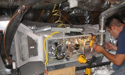 Air-Conditioning Service with One Pound of Freon from Air Tech of Houston (47% Off)