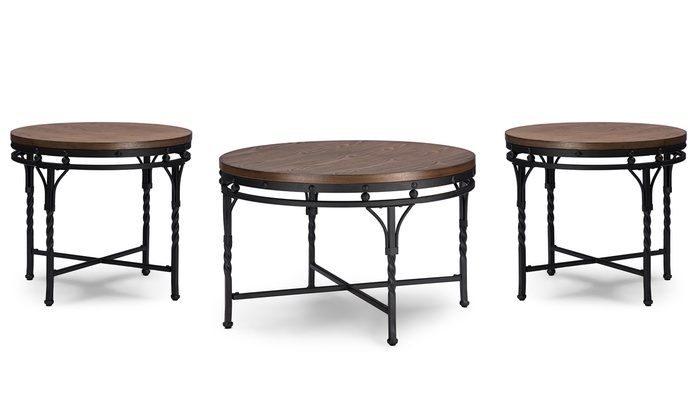 Austin Coffee Table End Tables Groupon Goods