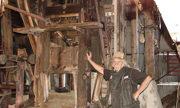 Comstock Gold Mill - Sutro Heights: Tickets for Two or Four Adults or Tickets for Two Adults and Two Kids to Comstock Gold Mill (50% Off)